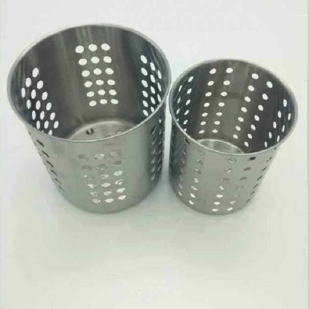 Metal cup for kitchen