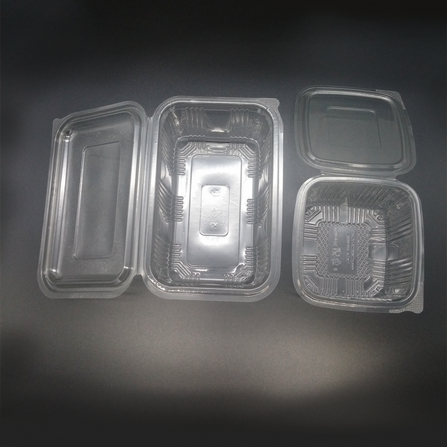Container with lid PVC